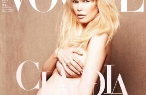Claudia Schiffer nous dévoile intégralement son corps harmonieux de femme enceinte...