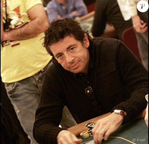 Patrick Bruel éliminé du World Poker Tour à Paris, avec un gain de 46 955 euros, le 12 mai 2010 !
