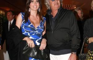 Flavio Briatore et sa femme Elisabetta, jeune maman classe mannequin, ont prévu une fête spéciale...