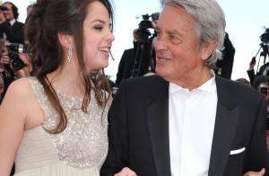 Cannes 2010 - Alain Delon est au summum du bonheur et de la fierté avec sa fille Anouchka !