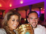 Franck Ribéry emporte un nouveau trophée et peut compter sur son épouse Wahiba... pour la fiesta ! Il reste exclu de la finale ! (réactualisé)