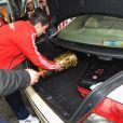lors de la soirée pour la Coupe d'Allemagne remportée par le Bayern de Munich à Berlin en Allemagne le 16 mai 2010