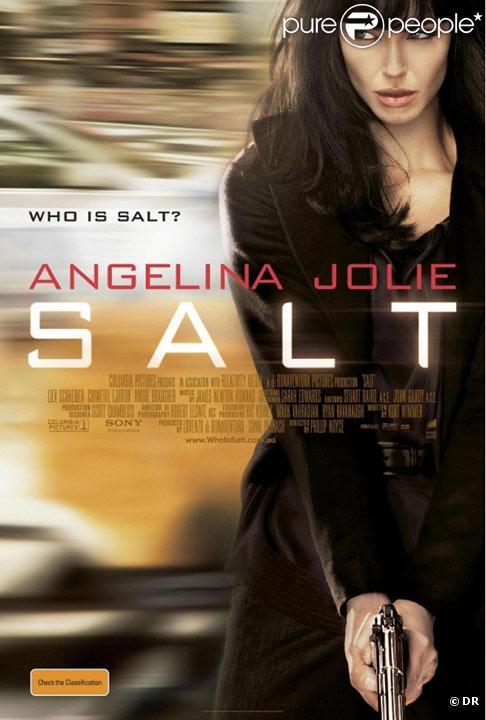 La nouvelle affiche de  Salt .