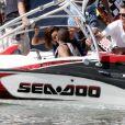 Eva Longoria et Tony Parker en pleine séance câlin en Miami