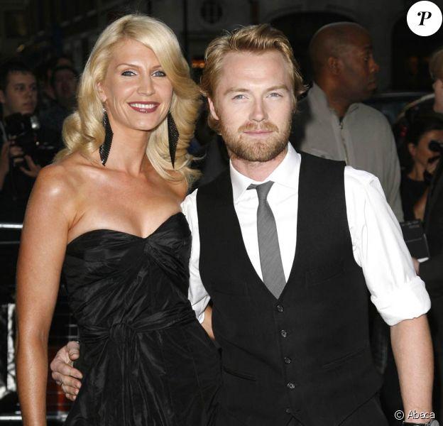Ronan Keating et Yvonne : en route pour le divorce ! Le leader de Boyzone a trompé sa femme avec une de ses danseuses...