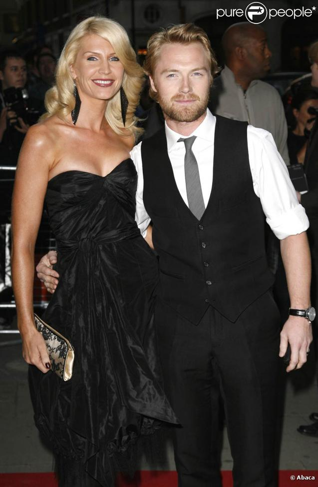 Ronan Keating couple