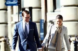 Victoria de Suède et son fiancé : Un premier passage dans la cathédrale... à moins d'un mois de leur mariage !