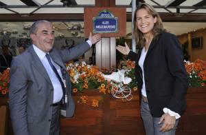 Amélie Mauresmo : Enfin reine à Roland-Garros, elle se prépare à courir le marathon de New York... avec Yannick Noah !