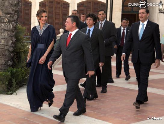 rania de jordanie en caftan