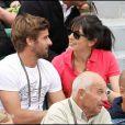Nolwenn et son bien-aimé Arnaud Clément à Roland-Garros. Week-end du 29/30 mai 2010