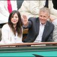 PPDA et une amie à Roland-Garros. Week-end du 29/30 mai 2010