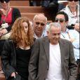 Francis Perrin et son épouse à Roland-Garros, le week-end du 29/30 mai 2010