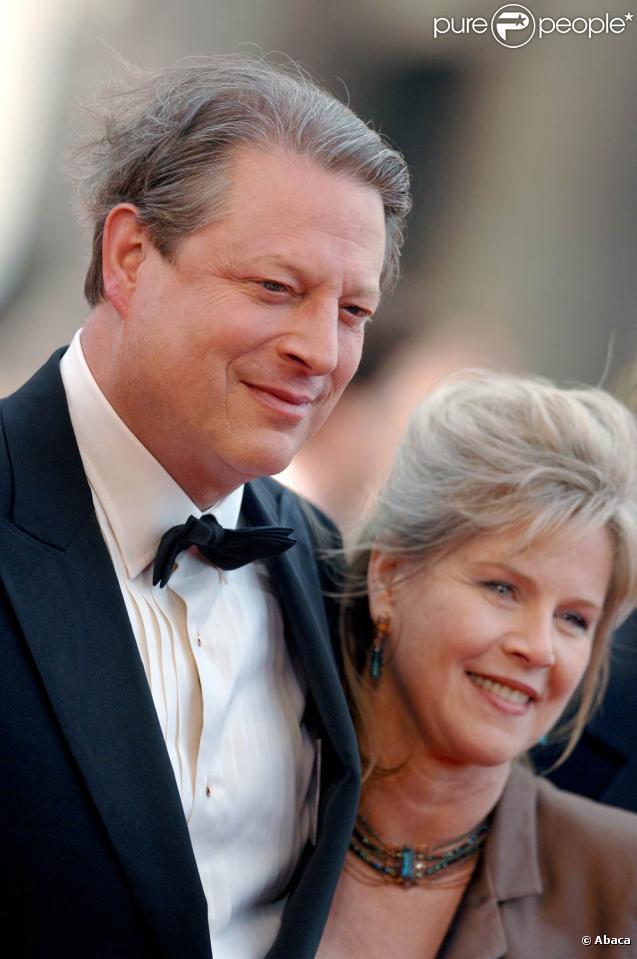 L'homme politique américain Al Gore et sa femme Tipper Gore. Après 40 années de mariage, ils divorcent !