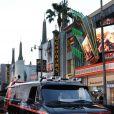 Le célèbre camion GMC, à l'occasion de l'avant-première de  L'agence tous risques , qui s'est tenue au Graumann's Chinese Theatre de Los Angeles, le 3 juin 2010.