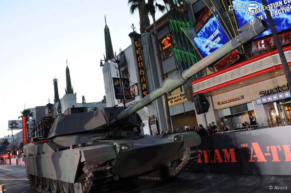 un char d 39 assaut sur hollywood boulevard l 39 occasion de. Black Bedroom Furniture Sets. Home Design Ideas