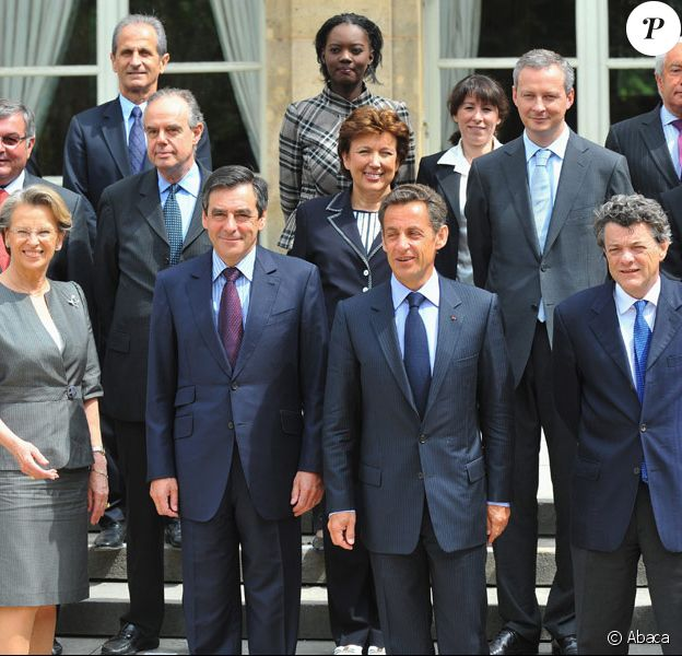 Les membres du Gouvernement en juin 2009