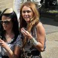 Miley Cyrus était de passage à Londres, les 3 et 4 juin, pour promouvoir son troisième album,  Can't be tamed .