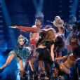 Miley Cyrus interprète  I can't be tamed  sur le plateau de  Britain's got talent , jeudi 3 juin, en Angleterre.