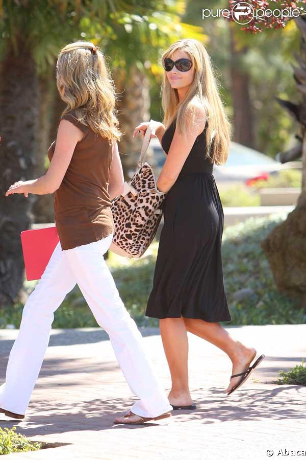 Denise Richards en plein tournage