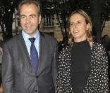 Luc Chatel et sa femme à l'anniversaire de la fondation Culture ...