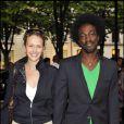 Marco Prince et Charlotte Becquin au 4e anniversaire de la fondation Culture & Diversité. 7/06/2010