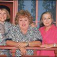 Ginette Garcin dans Le Clan des veuves avec Jackie Sardou et Mony Dalmes