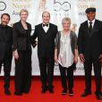 Jean-Hugues Anglade, Jane Lynch, le Prince Albert, Julie Walters et LL Cool J (10 juin 2010 à Monte-Carlo)
