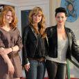 Lio, venue avec Clara Augarde et Katell Quillévéré au 24e festival du film de Cabourg, le 11 juin 2010.