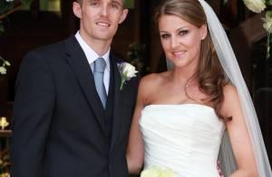 Darren Fletcher : Le milieu de terrain de Manchester United vous offre les photos de son beau mariage !