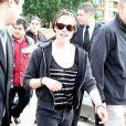 Kristen Stewart et Taylor Lautner reviennent de leur balade en bateau, le dimanche 30 mai à Sydney, en Australie.