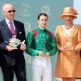 Dimanche 13 juin 2010 le Prix de Diane, à Chantilly, a vu la victoire de Christophe Lemaire sur Sarafina, pouliche dont l'Aga Khan est propriétaire.