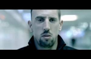 Franck Ribéry a décidé de... tourner le dos à tout le monde !