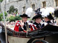 Le prince William et la reine Elizabeth II : Chevaleresques pour une vieille histoire de... jarretière !
