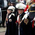 Le 14 juin 2010 se déroulait le rituel de l'ordre de la Jarretière, le plus vieil ordre de chevalerie du Royaume-Uni, en présence notamment de la reine Elizabeth II, souveraine de la Jarretière, et du prince William, chevalier.
