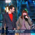 Luce et François (16 juin 2010 -Finale de la Nouvelle Star)