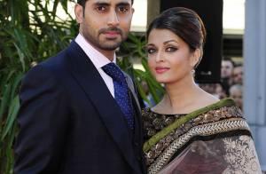 Aishwarya Rai : Impériale au bras de son mari...