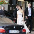 A Stockholm, les 16 et 17 juin, des invités de prestige ont commencé à affluer en vue du mariage de la princesse Victoria samedi 19 juin. Photo : Mary de Danemark.