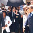 Michael Jackson et sa mère Katherine, juin 2005