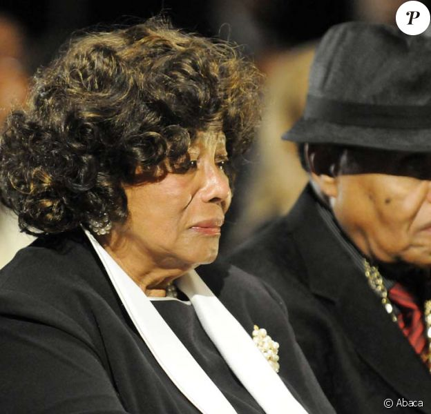 Funérailles de Michael Jackson : ses parents Katherine et Joe Jackson, le 7 juillet 2009