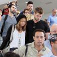Miley Cyrus et Liam Hemsworth à Los Angeles, le 21 juin 2010
