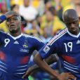 Des images prises lors du match Afrique-du-Sud/France, le 22 juin 2010, lors de la Coupe du Monde en Afrique-du-Sud.