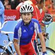 Jeannie Longo a remporté jeudi 24 juin 2010 son 10e titre national de contre-la-montre, son 57e titre de championne de France