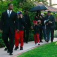 Michael Jackson et ses enfants en mai 2009