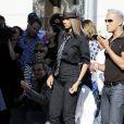 Tyra Banks sur le tournage de la dernière saison de America's Top Model à Hollywood le 24 juin 2010 à Los Angeles