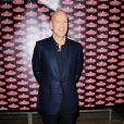 Bruce Willis fait la promotion de la vodka Sobieski à La Villa à Paris le 24 juin 2010