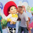 M. Pokora à l'occasion de l'avant-première de  Toy Story 3 , au Gaumont du Disney Village, à Marne-la-Vallée, le 26 juin 2010.