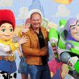 Cauet à l'occasion de l'avant-première de  Toy Story 3 , au Gaumont du Disney Village, à Marne-la-Vallée, le 26 juin 2010.