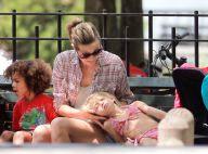 Heidi Klum partage des moments de pur bonheur... et couvre de câlins ses quatre adorables enfants !