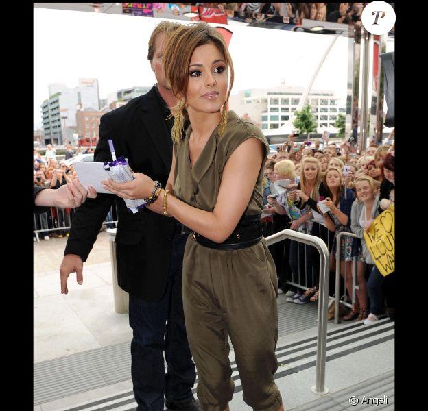 Cheryl Cole à Dublin, le 28 juin 2010