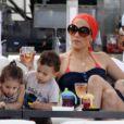 Jennifer Lopez et ses enfants Max et Emme